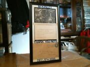 William Mckinley Original Very Rare Framed 1896 Thank You Note On His Nomination