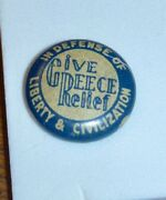 Ww11 Pin Give Greece Relief In Defense Of Liberty And Civilization