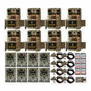 Browning Trail Cameras 20mp Spec Ops Edge Trail Camera 8 Pk With Security Bundle
