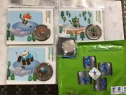 2010 50c Vancouver Olympics Mascot Coins And Puck Miga Ice Hockey Plus More
