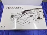 Rosso 1/8 Scale Ferrari 643 Unassembled Kit Wrx Model Limited Edition From Japan