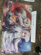 Ghost Ogre Snow Rabbit And Ghost Reaper Playmat Yu-gi-oh With Case Konami