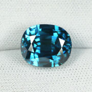 9.52 Ct Mind Blowing And Lustrous Best Blue Natural Blue Zircon - See Vdo 5705