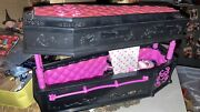 Rare Monster High Draculaura Dead Tired Jewellery Box Coffin Bed With Doll