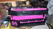 Rare Monster High Draculaura Dead Tired Jewellery Box Coffin Bed