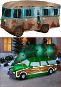 Christmas Vacation Special Clark's Truckster Andcousin Eddie's Rv Inflatables Set