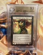 Fyendal's Spring Tunic - Flesh And Blood Crucible Of War 1st Edition - Bgs 9.5