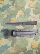 Vintage Cold Steel Recon Tanto 7blade Carbon V Made In Usa Kydex Sheath Xlint