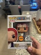 Funko Pop One Piece Shanks Chase 939 Big Apple Exclusive W Protector