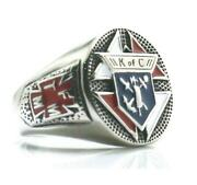 Knights Of Columbus Ring 316l Stainless Steel Christianity Catholicism K Of C