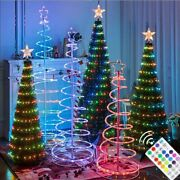 Christmas Tree String Led Lights Usb Remote Control Fairy For Party Decorations