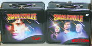Smallville Tv Series Illustrated Metal Lunchboxes Case Of 36 New Unused 2003
