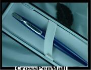 Cross Blue Lacquer Sterling Silver Rollerball Pen