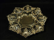19th C. Black Starr And Frost Sterling Silver Reticulated 14.5 Centerpiece Bowl