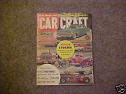 Very Nice Car Craft Magazine From Private Estate Collection June 1961 6-61