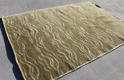 Tc1381 Gorgeous Design Wool And Silk Tibetan Area Rug 6and039 X 9and039 Handmade In Nepal
