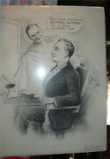 1918 Political Historical Cartoon Art Neal Mccall Oregon Pen And Ink Drawing