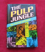 Frank Gruber Pulp Jungle Signed And The Hungry Years Ms