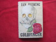 Ian Fleming Goldfinger Signed By Golden Girl Actress