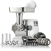 Stx Turboforce Classic Heavy Duty Electric Meat Grinder And Sausage Stuffer
