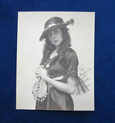 Original Signed And Inscribed Vintage Photo - Silent Film Actress Colleen Moore