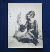 Original Signed And Inscribed Vintage Photo Of Silent Film Actress Blanche Sweet