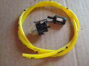 Primer Bulb Snap In Fuel Line And Filter Repl Mcculloch Chainsaw 3210 3214 3216