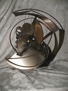 Industrial Abstract Metal Wall Sculpture Hilary Cole
