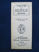 Facts About Goldfield, Nevada The Greatest Gold Camp In The World 1904