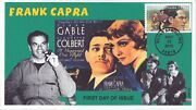 Jvc Cachets - 2012 Great Directors - Frank Capra Type 1 First Day Cover Fdc Le