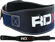 Rdx Weight Lifting 5.5 Leather Pro Belt Back Support Strap Gym Training Fitness