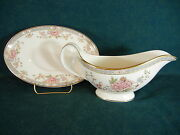 Royal Doulton Canton Gravy Boat With Separate Under Plate