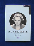 Blackmail By Tom Ryall Alfred Hitchock Film 1st British All-talkie Film