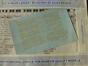 Microscale Decal N 60-372 Gn Passenger Car - Empire Builder - Pullman Owned