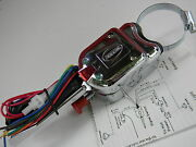 Chrome 7 Wire Turn Signal Blinker Switch Golf Cart Quad Antique Auto Car Old