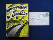 Appointment In Samarra Wi Autograph Postcard Signed By John Oand039hara
