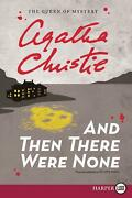 And Then There Were None By Agatha Christie English Paperback Book Free Shippi