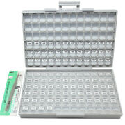 Smt Smd 0402 Capacitor Kit 75 Values X 50 Pcs Distributed In Box-all .5p 1uf X7r