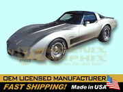 1982 Corvette C3 Collectorand039s Edition Fader Decals Graphics And Stripes Kit