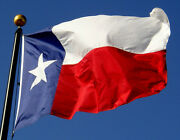 Texas Flags Fully Sewn Nylon Made In Usa Lone Star State New 12x18 To 30x60and039