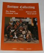 Antique Collecting February 1976 - Arts And Crafts Movement Furniture