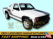 1989 Dodge Dakota Shelby Truck Complete Decals And Stripes Kit
