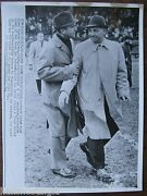 1962 Ap Wire Photo Detroit Lions George Wilson Green Bay Packers Phil Bengtson