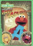 Sesame Street-elmo And Friends - Tales Of Adventure Dvd 2009 3 Incredible Story