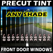 Nano Carbon Window Film Any Tint Shade Precut Front Doors For Toyota And Scion