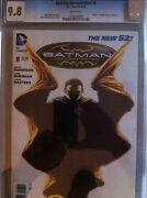 Batman Incorporated 8 Cgc 9.8 White Pages Death Of Damian Robin Wayne