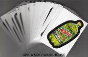 Wacky Packages Series 10 Exclusive Black Ludlow Complete Set 55/55 Sticker Cards