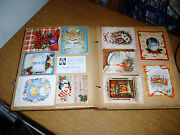 Lot Of Vintage Greeting Cards 200+ 1940and039s Christmas Wedding Scrapbook Antique