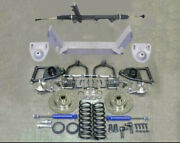 1949 50 51 52 53 54 Chevy Car Mustang Ii Ifs Front End Kit Suspension Power ++++