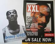 Snoop Doggy Dogg 2 U.s. Promo Posters Paid Tha Cost And Xxl - Rap Hip Hop Music